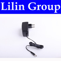 (For LL-D6601,LL-A325,LL-A320) Power Adapter for Robot Vacuum Cleaner, European Type,Two Pin,Round Shape