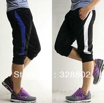 High quality 2014 fashion basketball short running shorts Seven minutes sports tennis shorts men M-XXL(China (Mainland))