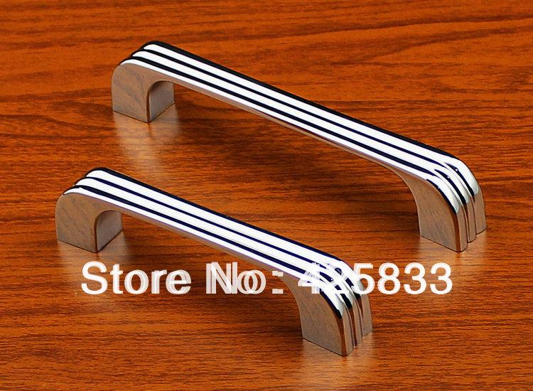 8pcs Fashion 128mm Chroming Modern Kitchen Drawer Handles Door Cabinet Pull Closet Knobs Sliding Cupboard Hardware Door Knob(China (Mainland))