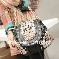 Retro fashion bag vintage bag backpack handbag women's handbag