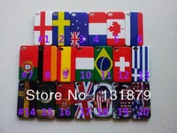 Wholesale 300pcs/lot For iphone4 4s Case High Quality Luxury Retro International Flag Case Cover For iphone 4 4s Free Shipping