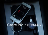Digital voltmeter 5V 0-2.1A Car Usb Charger 12V/24V VoltMeter For IPhone IPod