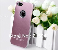 2014 new Free shipping multicolor sandy metal case for I phone 5 high quality