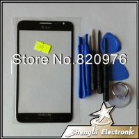 Original LCD touch Screen Lens Replacement Glass Black for Samsung Galaxy Note i717+Tools