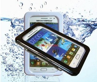 Waterproof case for SAMSUNG Galaxy note 2 N7100 Galaxy note 3 N9000 protective swimming fIshing cases cover bag,free shipping
