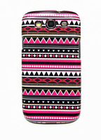 Tribal Tribe Stripe Pattern Hard Back Case Cover Cell Phone Case for Samsung Galaxy S3 III i9300 A Free Shipping + Drop Shipping