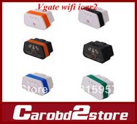 Original Vgate wifi  iCar 2 OBDII ELM327 iCar2 scanner vgate MINI OBD Auto Diagnostic Tool For iPhone IOS iPad Android PC