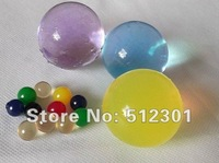Free Shipping 50g large/big size jumbo crystal soil / jumbo water beads clay super absorbent polymer