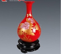 world famous luxury  ceramic vase, souvenirhome decoration, ceramic ornament  Pottery & Enamel gift  ceramic porcelain Crafts