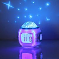Music starry sky projection lamp romantic birthday gift female gift girl