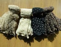 Free shipping! 50/pcs Women Jacquard dot socks thin silk short socks