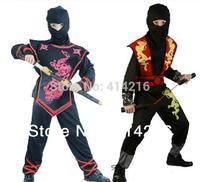 Halloween children kids Ninja costumes for boys girls cosplay 2 styles