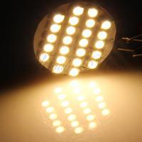 10 G4 Warm White 24 LED 3528 SMD Camper Marine Boat Spot Light Lamp Bulb DC 12V