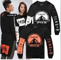 2014 men brand Streetwear clothing dolphin new hip hop dance sweater cotton sweater hoodies heybig pyrex