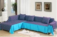 European-style sofa cover 100% cotton fabric sofa towel 200*260CM free shipping