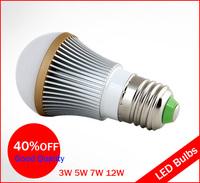 New Product  LED Spotlight 3w 5W 7w 12w E27 LED Bulb TaiWan High power LED AC85-265V CE&ROHS .Free shipping!