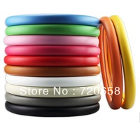 Free Shipping Winter Colorful Steering Wheel Cover Car Interior DIY Racing Universal Red Pink Blue Green