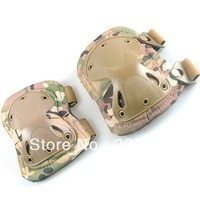 Military Tactical Combat Knee & Elbow Protective Pads Skate Knee Pad CP