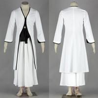 White 2 - - - men's cosplay clothing - kimono cosplay