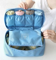 Multifunctional Underwear Traveling Storage for Lady /Waterproof Organize Bag 4 Colors Free Shipping