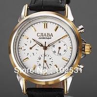 2014 Luxury Russia Slava Clock Brand Automatic self-wind Mechanical Classic Multifunction Cjiaba Men's Gift Wrist Watch