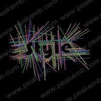 30Pcs/Lot Free Dhl Shipping Colorful Letter Style Rhinestone Patterns Iron On Strass Motif Hot Fix Design For Hoodies