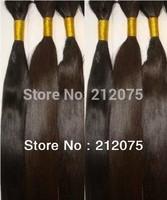 """12""""-30""""inches 6pieces/lot Brazilian virgin human hair extension*straight hair**Bulk hair*"""