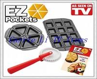 Free Shipping 96pcs/lot EZ Pockets Mini Pie Pan As Seen On TV Kitchen Tools Pie Maker