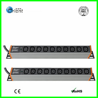 IEC C13  PDU 10 Ways With  power light