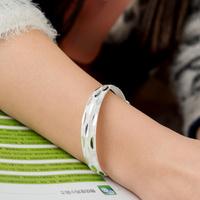 Pure silver bracelet 999 fine silver bracelet fashion sexy bracelet