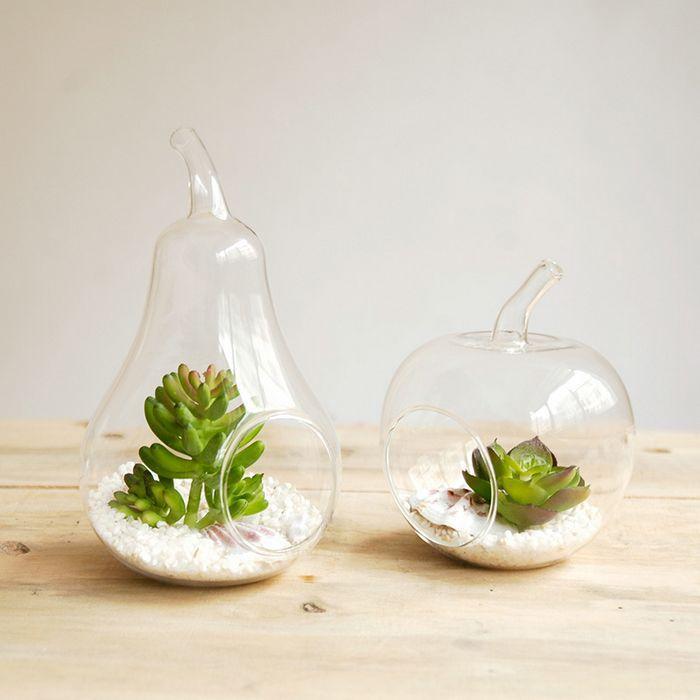 Versandkosten neuen 2014 ikea-stil zakka kreative apfel birne glas blumenvase/hydrokultur/tischplatte vase/Geschenke/home dekoration