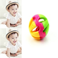 Kid Gift Musical Instrument Baby Hand Shaker Bell Jingle Ring Rattle Ball Toy