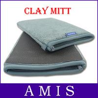 High Quality Normal Material 20*13*1CM Car Clean Magic Clay Bar Mitt Glove Car Accessories,Free shipping