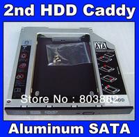 9.5mm Universal SATA 2nd HDD SSD hard disk drive caddy bay adapter For Asus X550C X550B X550V X550D X450C X450 Series laptop