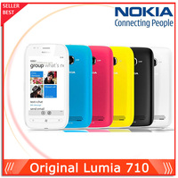 "In Stock Nokia Original Lumia 710 Windows Phone ROM 8GB Camera 5.0MP GPS Wifi 3.7"" Screen Unlocked 710 3G Mobile Phone"