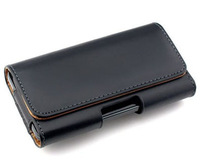 2014 New Smooth pattern PU Leather Phone Belt Clip for thl w100 Cell Phone Accessories Pouch Bags Cases