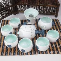 Tea set teapot teaberries porcelain tea set tea cup glaze teacup tea set
