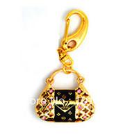 Golden handbag U disk  Genuine Capacity USB Flash Drive, Heart Pen Driver, Gift USB Flash Disk, Jewelry USB flash drive