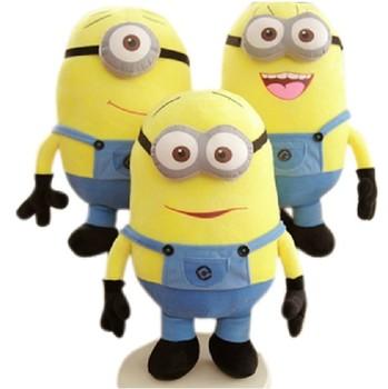 3pcs / set Despicable ME Movie Plush Toy 18cm Minion Jorge Stewart Dave free shipping