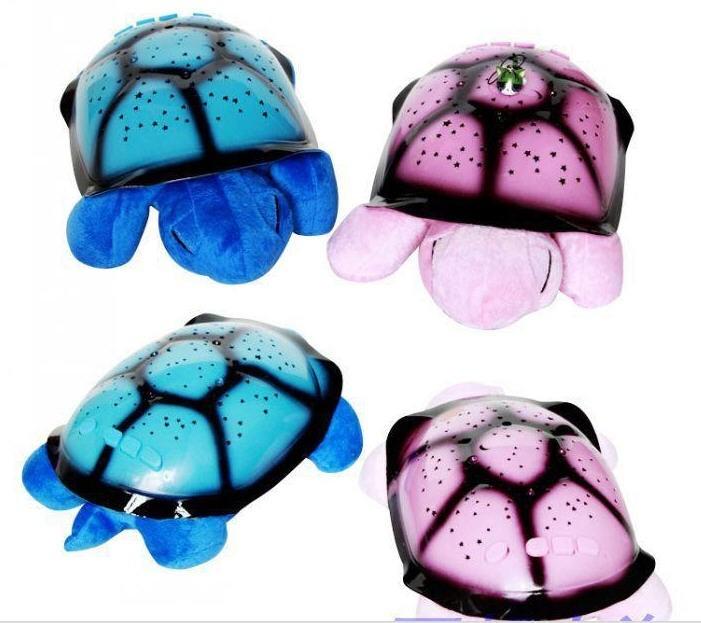 MUSIC play best quality Turtle Star night Sky Constellation projector Lamp Kid Baby Sleep Night Light free shipping(China (Mainland))