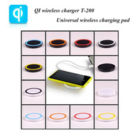 QI wireless power charger T-200 Universal QI charger wireless charging pad for Nokia Lumia 920/LG Nexus 4/Galaxy S3/Note 2/S4