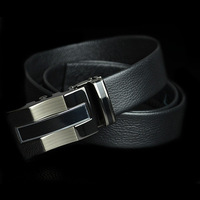 2014 hot men genuine leather belt automatic buckle belts for men luxury leather