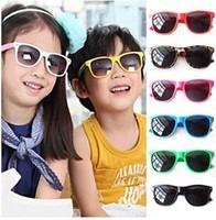 100Pcs/Lot Wholesale Children Rivet Candy Sunglasses Boy Girl Sunglasses Free Shipping