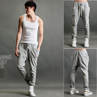 Harem pants slim casual pants trousers male health pants fashion male sports pants male