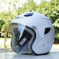Motorcycle helmet autumn and winter antimist helmet electric bicycle cap ak