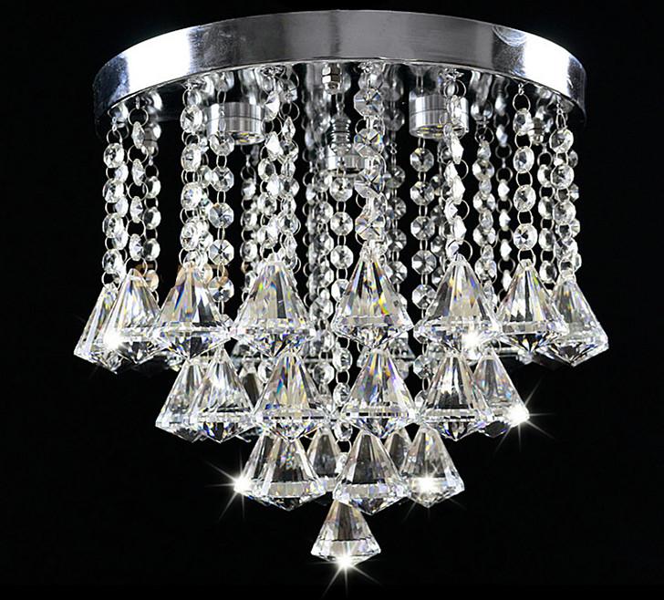 Free shipping 2014 new led crystal lamp fashion crystal ceiling lighting(China (Mainland))