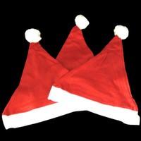 Free Shipping Christmas x'mas Hat Red fashion Santa xmas Hat Cheaper christmas headwear 5pcs/lot HG957