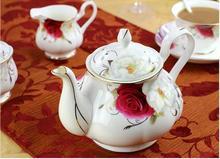 ceramic coffee set fashion bone coffee cup set tea set Porcelain Teapot cup Drinkware Tool Tea
