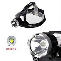 CREE XM-L XML T6 LED Headlamp 3-Mode Focus Headlight real 800Lum For Cycling Fishing Camping   Survival Game