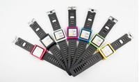 LunaTi Style 2014 New Aeromedical Silicone Aluminum Watch Band Strap For iPod Nano6 6th
